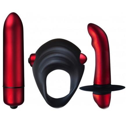 fetish fantasy arnes vibrador hueco 19 cm negro