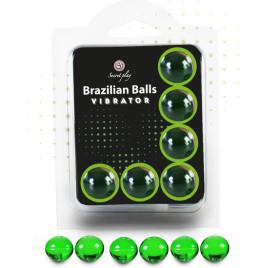SECRET PLAY SET 6 BRAZILIAN BALLS VIBRACIoN MENTA