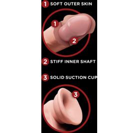 basix mini plug anal de gelatina 9 cm lila